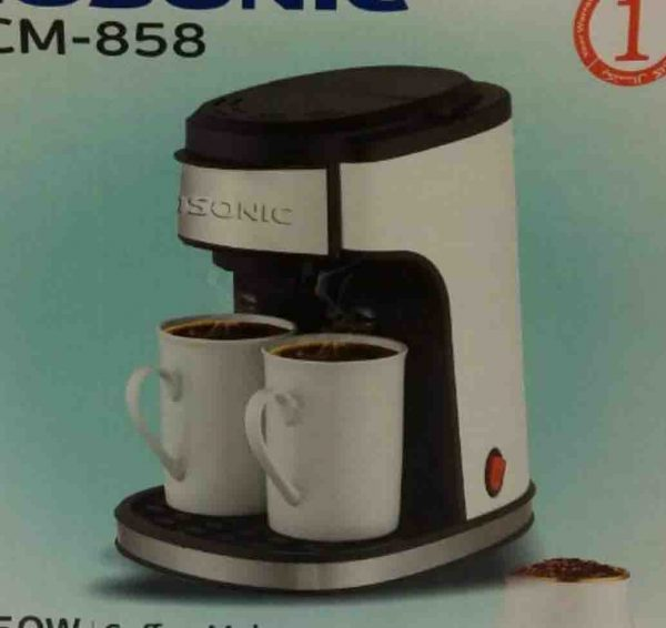 پاپ کالا,پاپکالا,باب کالا,بابکالا,papkala,pap kala,قهوه ساز,قهوهساز,قهوه جوش,قهوهجوش,قهوه جوش گوسونیک GOSONIC مدل858 دوفنجان